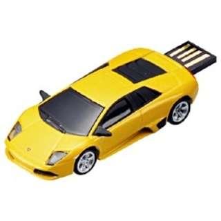 〔AutoDriveシリーズ〕 世界の名車 USBフラッシュメモリ (4GB・ランボルギーニ) GH-UFD4GC-LAM