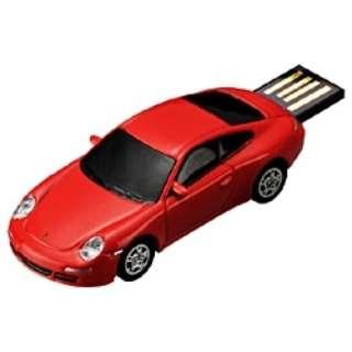 〔AutoDriveシリーズ〕 世界の名車 USBフラッシュメモリ (4GB・ポルシェ) GH-UFD4GC-POR