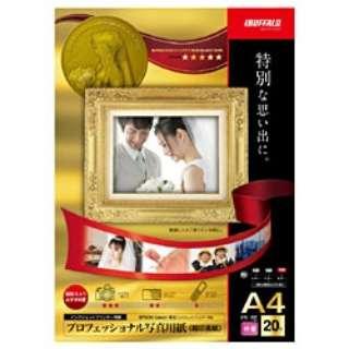 インクジェットプリンター用紙 写真用 印画紙 (A4サイズ・20枚) BSIJP01A420