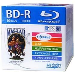 HDBD-R6X10SC [BD-R 6倍速 10枚組] 製品画像