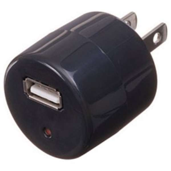 AC/USB変換アダプター(ブラック) HM100BKUSB
