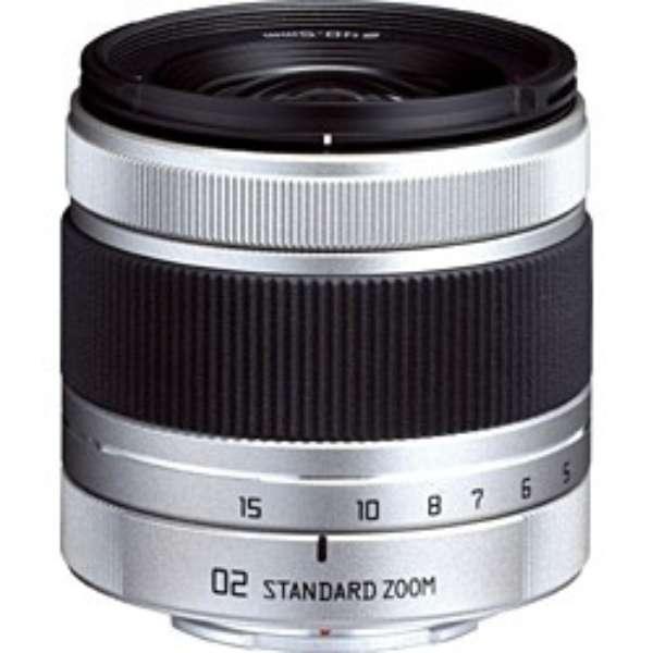 カメラレンズ 02 STANDARD ZOOM 5-15mm F2.8-4.5 シルバー [ペンタックスQ /ズームレンズ]