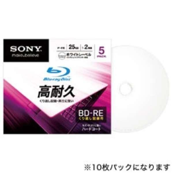10BNE1DCPS2 データ用BD-RE [10枚 /25GB /インクジェットプリンター対応]