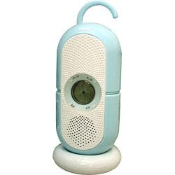 ANDO 防滴おふろクロックラジオ R9-381W ラジオ