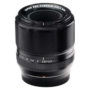 カメラレンズ XF60mmF2.4 R Macro FUJINON(フジノン) ブラック [FUJIFILM X /単焦点レンズ]