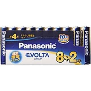 LR03EJSP/10S 単4電池 EVOLTA(エボルタ) [10本 /アルカリ]