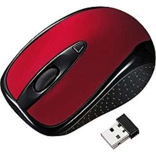 MA-WH121R マウス レッド  [光学式 /3ボタン /USB /無線(ワイヤレス)]