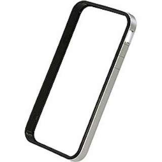 iPhone 4S/4用 フラットバンパーセット (シルバー) PHC-65