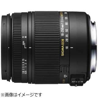 カメラレンズ 18-250mm F3.5-6.3 DC MACRO OS HSM APS-C用 ブラック [キヤノンEF /ズームレンズ]