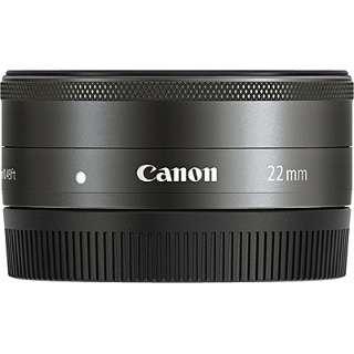 カメラレンズ EF-M22mm F2 STM ブラック [キヤノンEF-M /単焦点レンズ]