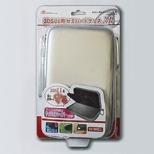 3DS LL用 セミハードケース 3L シルバー【3DSLL】