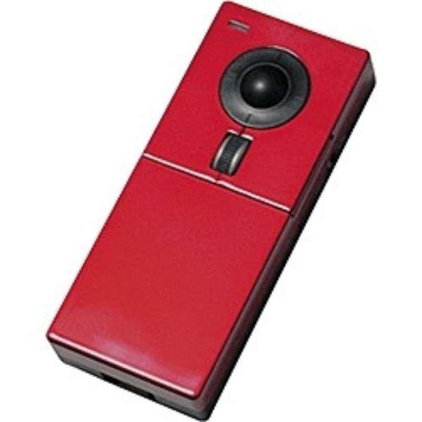 ML001GR マウス Livina レッド  [光学式 /4ボタン /USB /無線(ワイヤレス)]