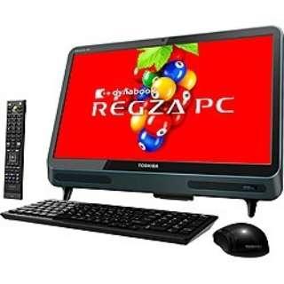 D712/V3GG デスクトップパソコン REGZA PC ダークグリーン [21.5型 /HDD:1TB /メモリ:4GB /2012年10月]