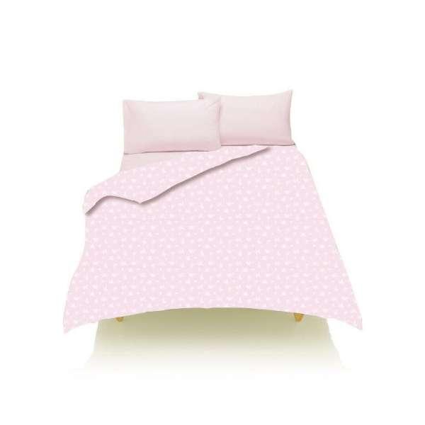 【敷ふとんカバー】綿ブロード シングルサイズ(綿100%/105×215cm/ピンク)【日本製】