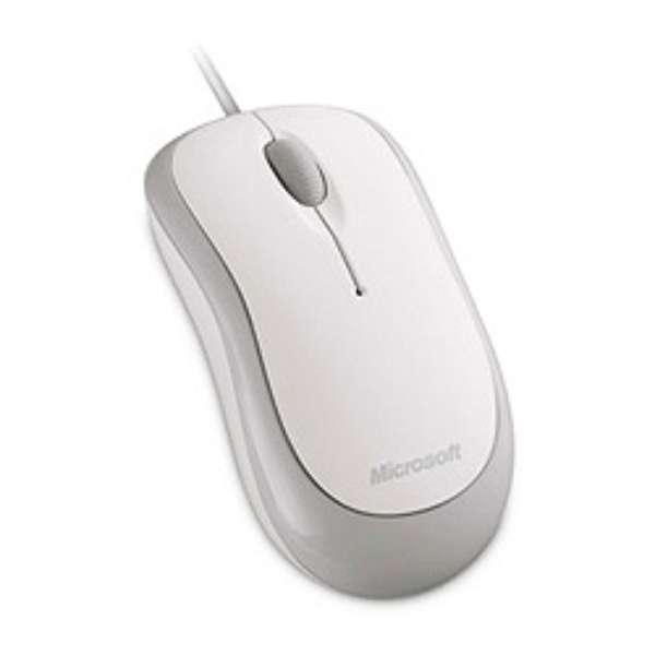 P58-00070 マウス Basic Optical Mouse シルキーホワイト  [光学式 /3ボタン /USB /有線]