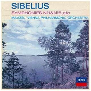 マゼール&ウィーン・フィル/シベリウス:交響曲第1番・第5番、≪カレリア≫組曲 【CD】