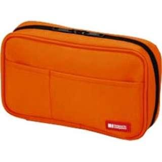ペンケース[ブックタイプ] (橙) A-7551-4