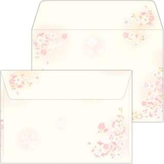 16-1985 和ごころ封筒 枝桜 洋2/10