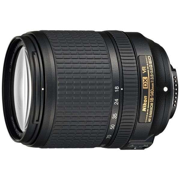 カメラレンズ AF-S DX NIKKOR 18-140mm f/3.5-5.6G ED VR APS-C用 NIKKOR(ニッコール) ブラック [ニコンF /ズームレンズ]