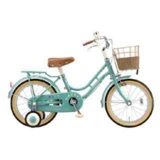 18型 幼児用自転車 ハッチ(グリーン)HC182 【組立商品につき返品不可】