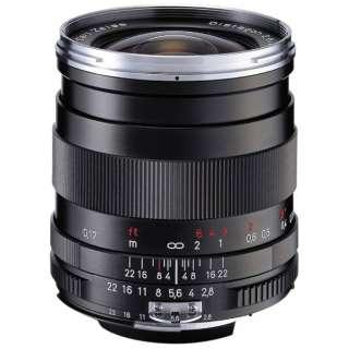 カメラレンズ T*2.8/25 ZF. 2 Distagon(ディスタゴン) ブラック [ニコンF /単焦点レンズ]