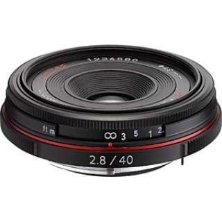 カメラレンズ HD PENTAX-DA 40mmF2.8 Limited APS-C用 ブラック [ペンタックスK /単焦点レンズ]