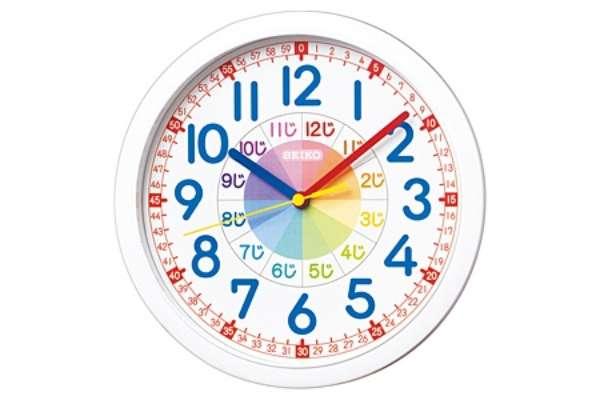 掛け時計のおすすめ21選 セイコー「知育掛け時計」KX617W
