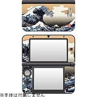 彩装飾シート 津波<北斎>【3DS LL】