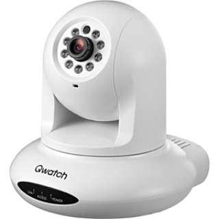 TS-PTCAM ネットワークカメラ Qwatch(クウォッチ) ホワイト [暗視対応 /有線]