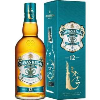 [18年 ミニチュアボトル付き] シーバスリーガル ミズナラ 12年 700ml【ウイスキー】