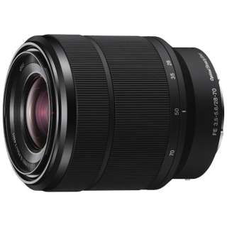 カメラレンズ FE 28-70mm F3.5-5.6 OSS ブラック SEL2870 [ソニーE /ズームレンズ]