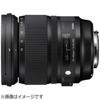 カメラレンズ 24-105mm F4 DG HSM Art ブラック [ソニーA(α) /ズームレンズ]