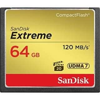 コンパクトフラッシュ Extreme(エクストリーム)シリーズ SDCFXS-064G-J61 [64GB]