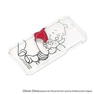 iPhone 5c用 PCケース クリア箔押し 「ディズニー」(くまのプーさん) PG-DNYIJ822POO
