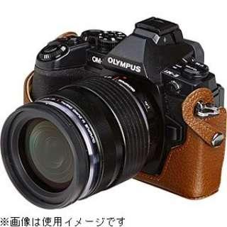 本革ボディケース【OLYMPUS OM-D E-M1専用】(ブラウン) DBC-EM1BR