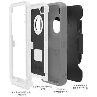 iPhone 5c用 Defender ベーシックシリーズ (ホワイト/ガンメタルグレー) OTB-PH-000095