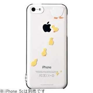 iPhone 5c用 はめるタイプのスマホケース Ctrl+ レイヤード (アヒル) CP-LAIP5C0819