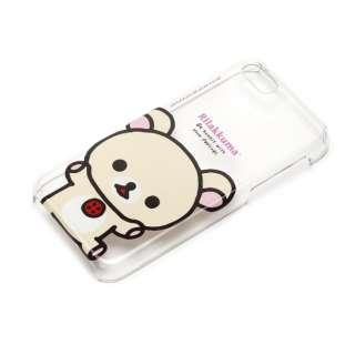 iPhone 5c用 ポリカーボネートケース クリア 「リラックマ」(コリラックマ) YY00206