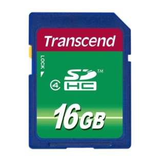 SDHCカード TS16GSDHC4 [16GB /Class4]
