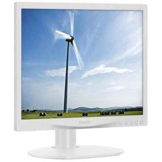 LEDバックライト搭載液晶モニター S Line ホワイト 17S4LAW/11 [スクエア /SXGA(1280×1024)]