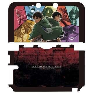 進撃の巨人 プロテクトケース(3DS LL用) アニメカラー【3DS LL】