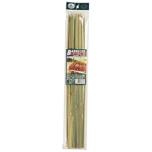 竹製バーベキュー串(角)45cm 20本入 M6435