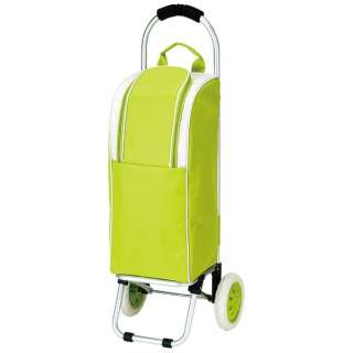 ライフ アルミショッピングカート 保冷バッグ付  (グリーン) MK-2409