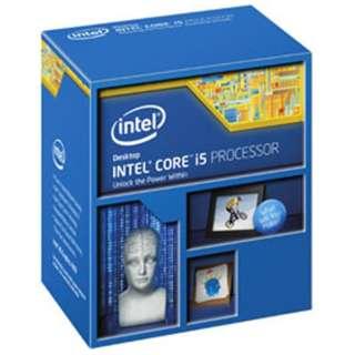 Core i5 - 4690K BOX品 BX80646I54690K ※対応BIOS以外は起動できません。 [CPU]