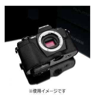本革カメラケース 【オリンパス OM-D E-M10用】(ブラック) XS-CHEM10BK