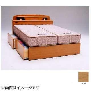 【フレームのみ】収納付き キャビネットタイプ ラルフ04C(セミダブルサイズ/ペールチェリー)【日本製】 フランスベッド