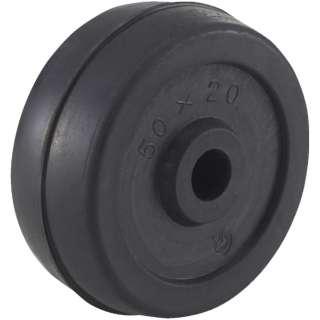 二輪運搬車用車輪 Φ50ゴム車輪 4011用補助車輪 P50G