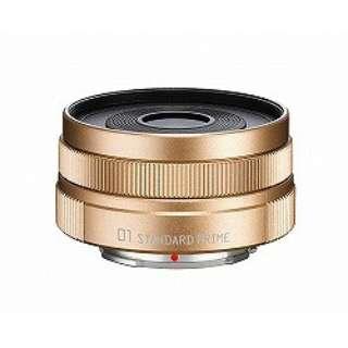 カメラレンズ 01 STANDARD PRIME 8.5mm F1.9 シャンパンゴールド [ペンタックスQ /単焦点レンズ]