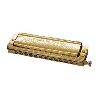 No.1248SG ハーモニカ UNI CHROMATIC GOLD (ユニ・クロマチック・ゴールド) ゴールド [12穴]