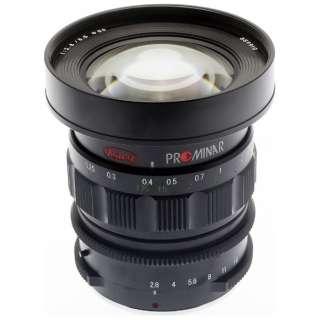カメラレンズ PROMINAR8.5mm F2.8 ブラック [マイクロフォーサーズ /単焦点レンズ]
